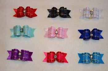 Obrázek Mašličky pro psy - top knot bows